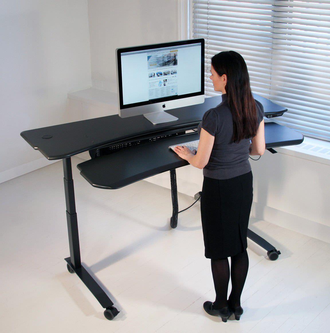 Medical Computer Workstation / Mobile / Height Adjustable   Flexo Level3