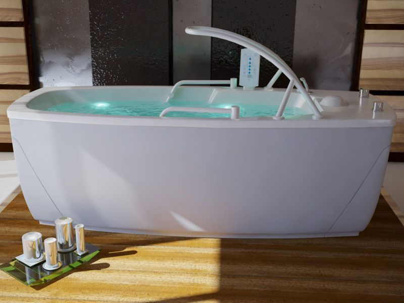 Hydromassage bathtub with chromotherapy lamps - Florida California ...