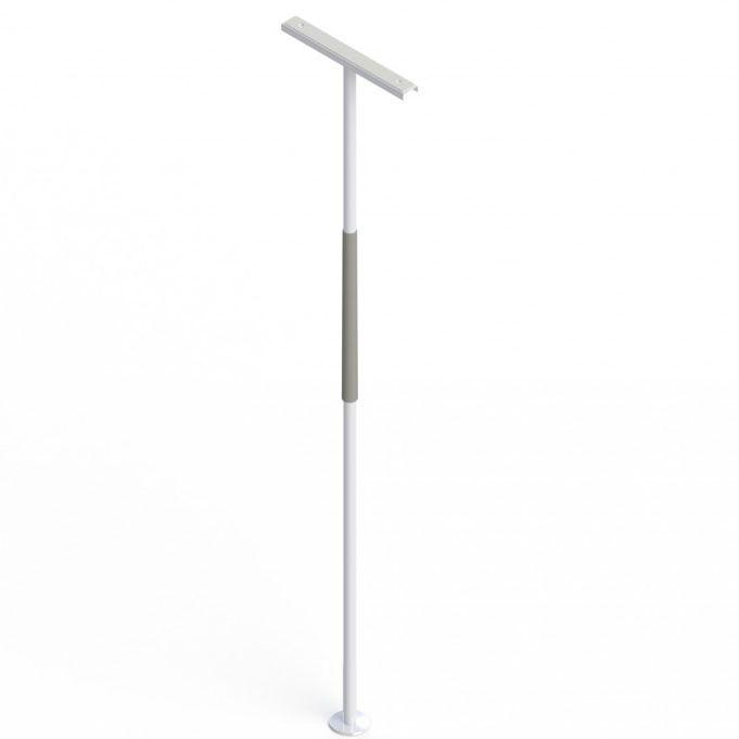 Bed grab bar / bathroom / floor-mounted - SUPERPOLE™ - HealthCraft ...