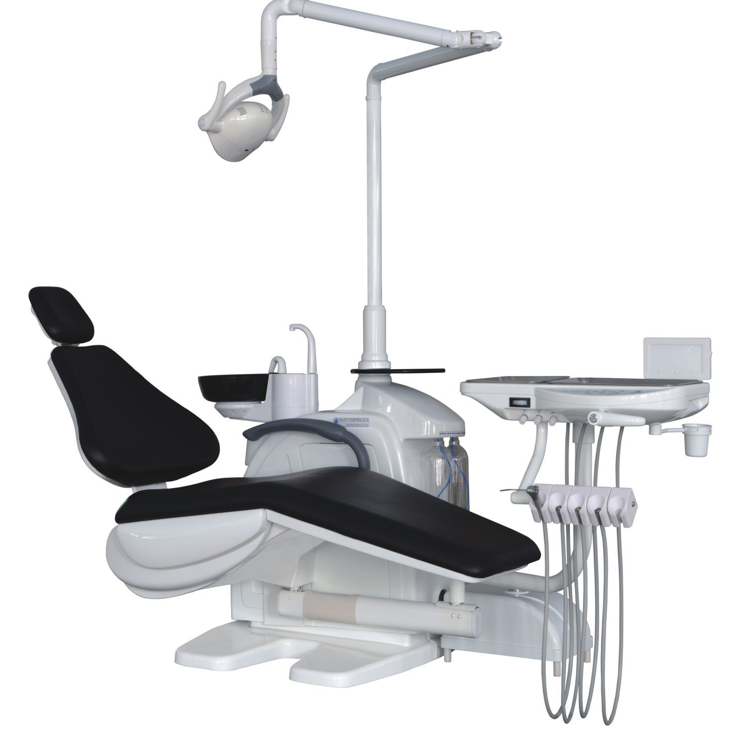 Dental unit with motor driven chair with delivery system Suzy