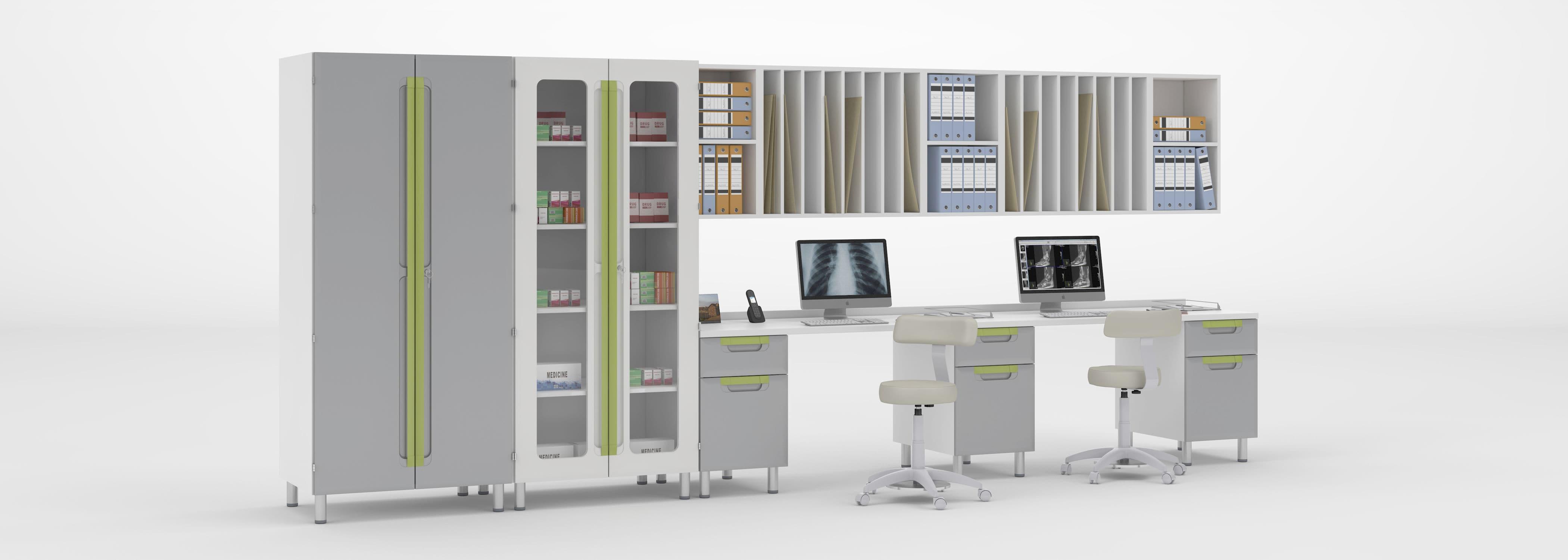 Storage Cabinet / Medicine / Medical Records / Doctoru0027s Office   MDF