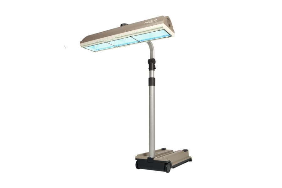 Tanning Lamp / UV / On Casters   Hapro Mobile Sun