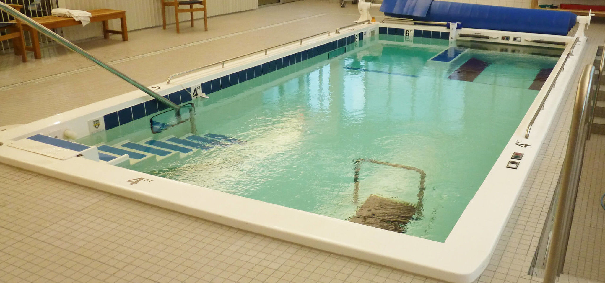 Rehabilitation swimming pool - 1000 T - SwimEx - Videos