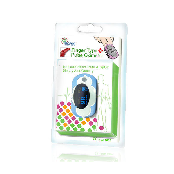 Fingertip pulse oximeter - HX-G1/B6 - Hannox International