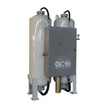 Fixed oxygen generator / onsite / PSA - GCSO series - Gas Control