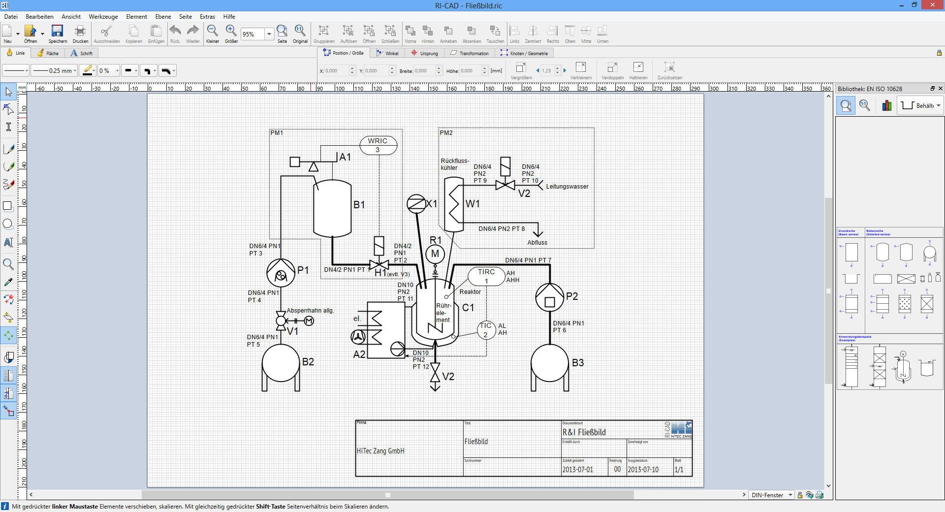 Document management software / planning - RI-CAD™ - HiTec Zang GmbH