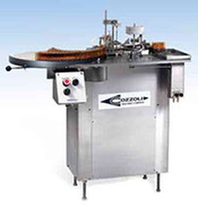 Drug ampoule filling and sealing machine / intermittent-motion FPS Series  Cozzoli Machine Company