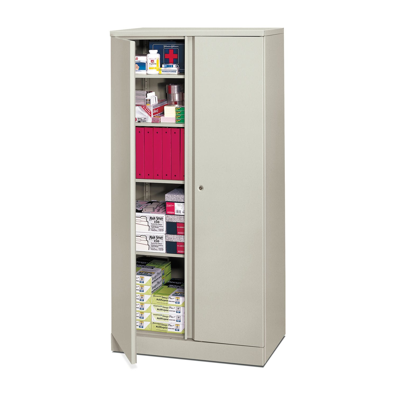 Supply Cabinet / Hospital / With Shelf / With Door   HC187236