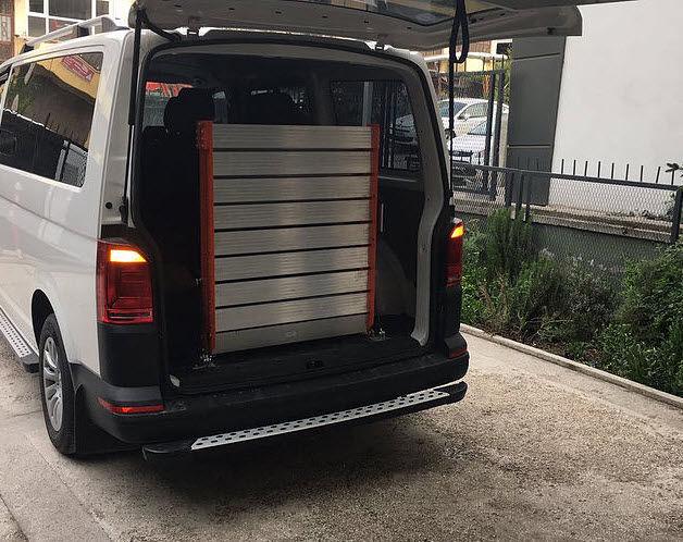 car wheelchair ramp vehicle mounted medlis ramps videos