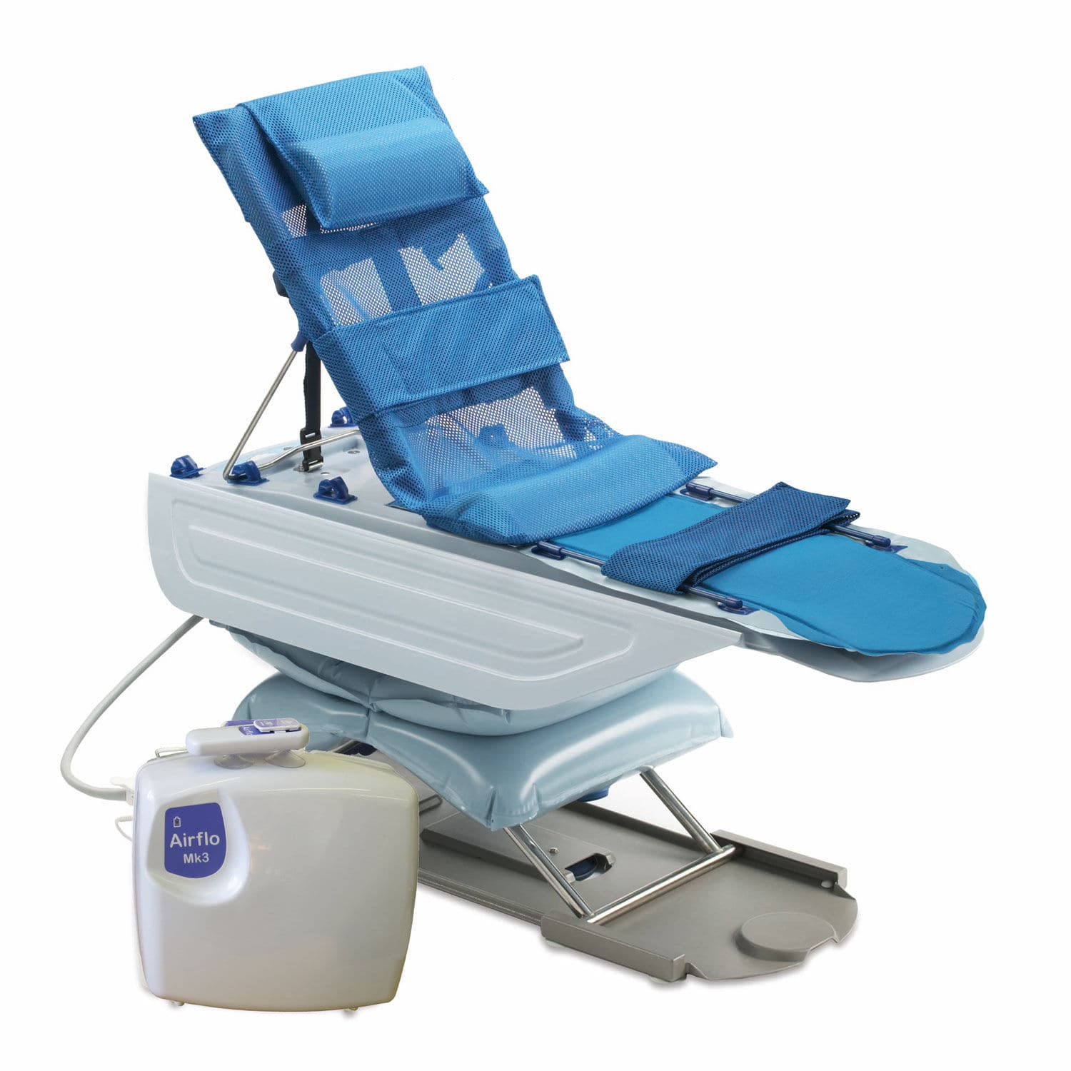 Electric patient lift / floor-mounted / pediatric / for bathtubs ...