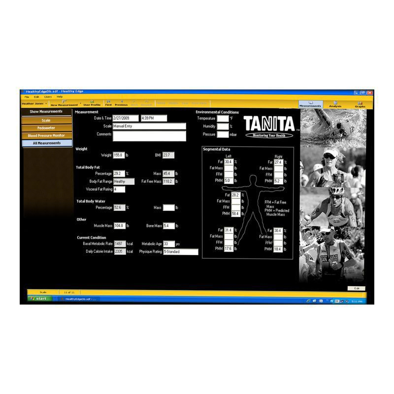 Management software / hospital / wireless Healthy Edge® Plus Tanita