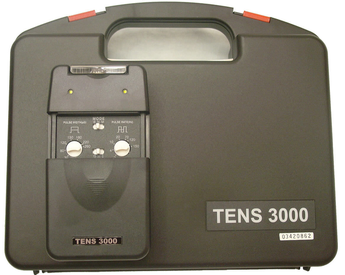 electro-stimulator / hand-held / TENS / 2-channel - TENS 3000