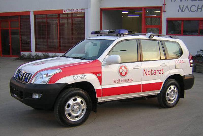 626d63e801f4f2 4x4 ambulance - Toyota Land Cruiser - Dlouhy