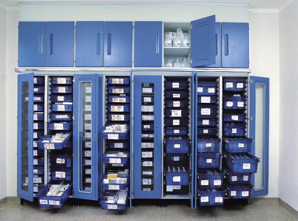Hospital Medicine Cabinet Storage Cabinet For Medicine Hospital With Swing Doors