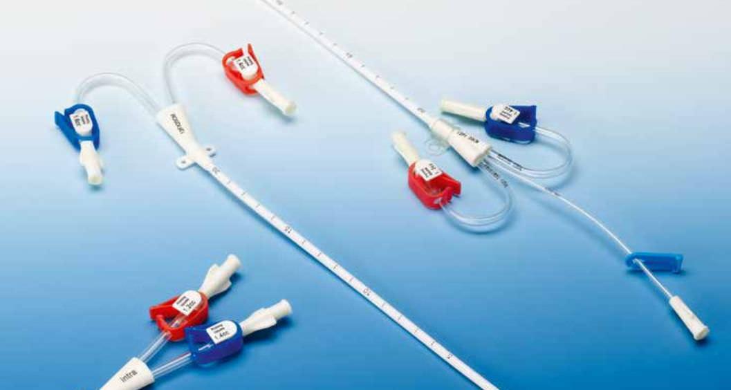 Hemodialysis catheter / venous / double-lumen - intra special ...