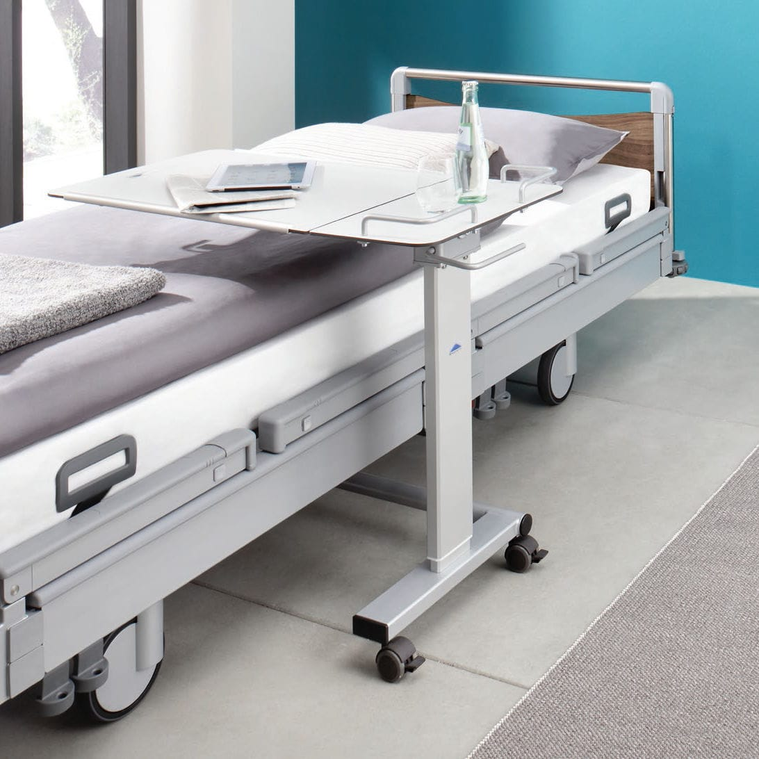 Diy overbed table - Overbed Table Tilting On Casters Pleto Gmbh U0026 Co