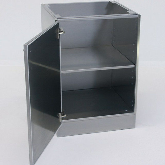 Storage cabinet / laboratory / stainless steel - UBS-FT-400 ...