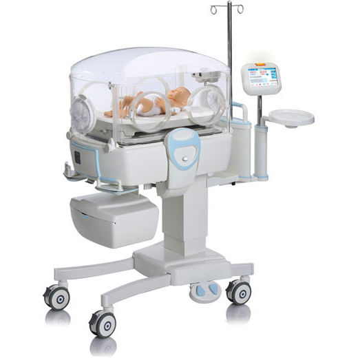 neonatal incubator with monitor inc 200 phoenix medical systems