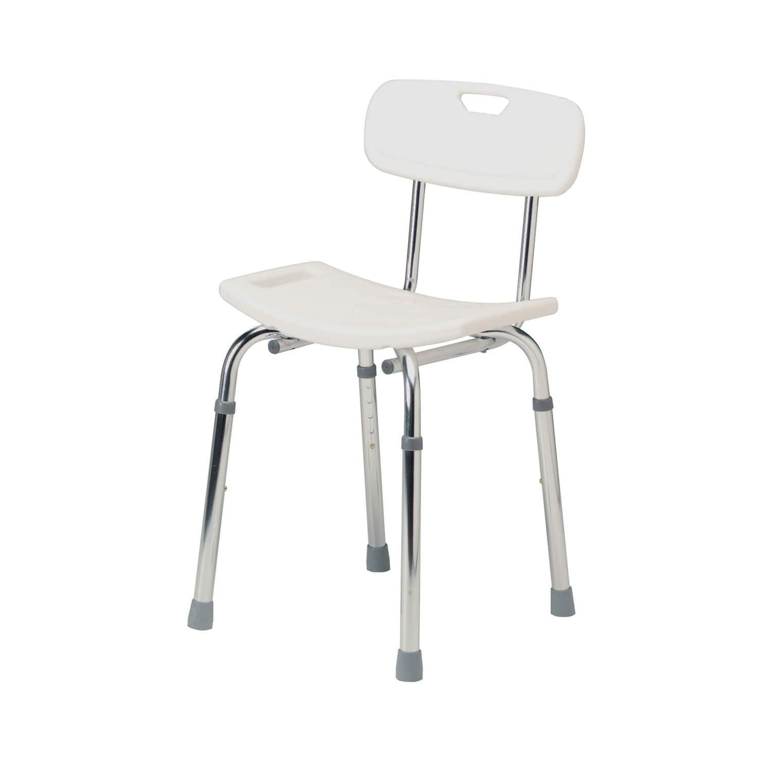 Shower chair / height-adjustable - 4207A - Roma Medical Aids