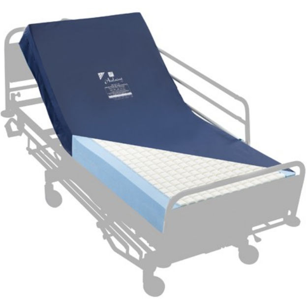 Hospital bed mattress / memory / foam / waterproof - MAT/ACCL/VE - Hospital Bed Mattress / Memory / Foam / Waterproof - MAT/ACCL/VE
