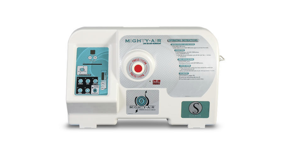 hospital bed mattress low air loss bariatric mighty air
