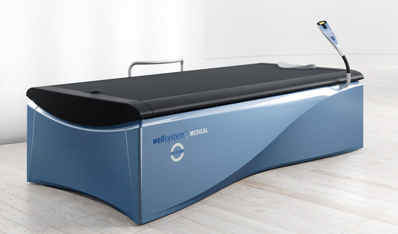Hydromassage table with water jet - WELLSYSTEM MEDICAL Hydro-jet ...