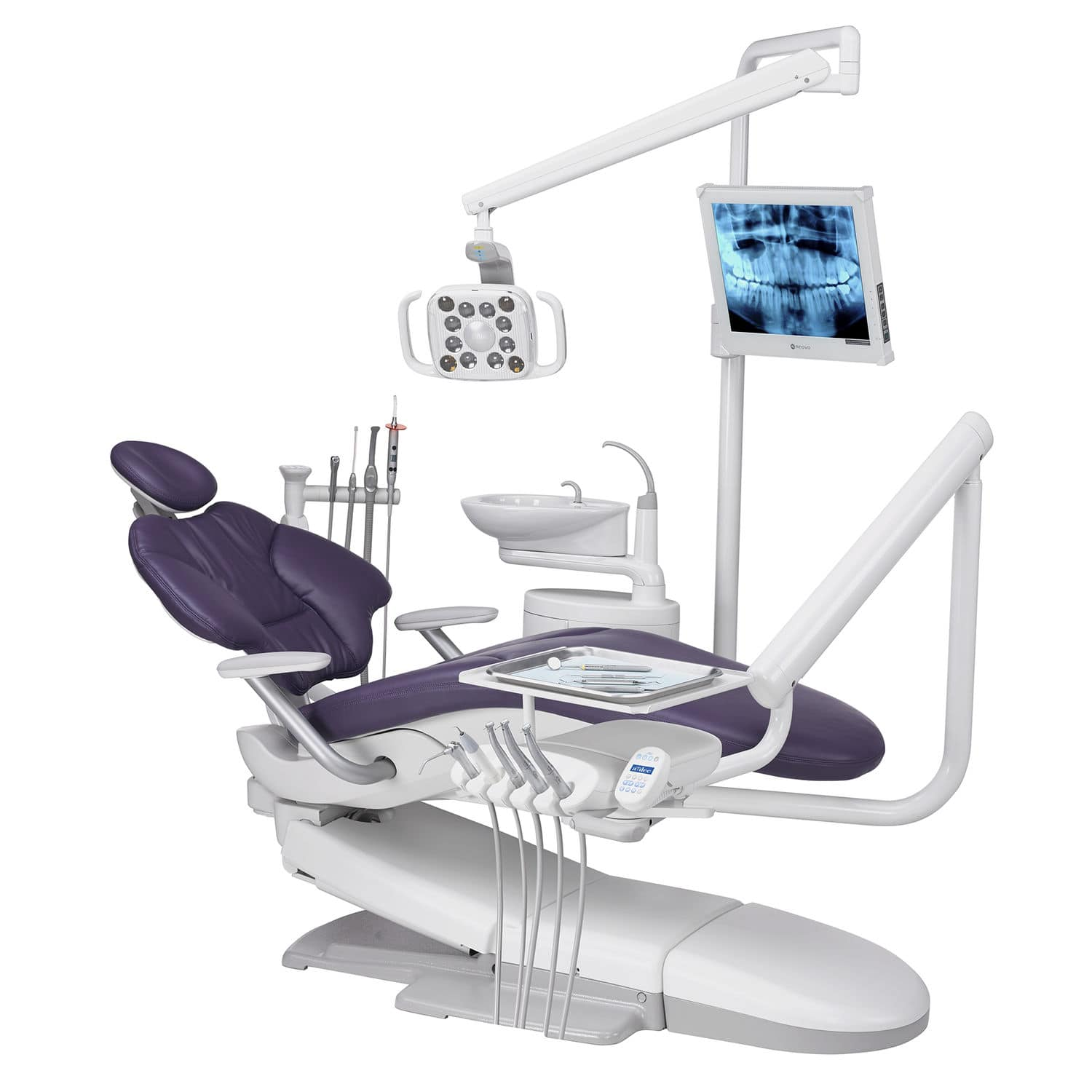 Dental treatment unit with hydraulic chair A dec 400 A dec
