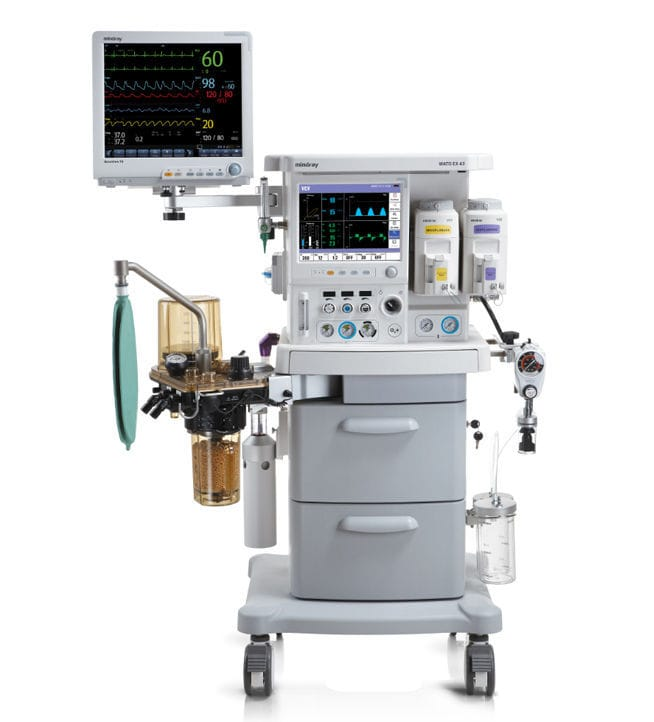 trolley mounted anesthesia workstation with respiratory monitoring rh medicalexpo com wato ex-65/55 manual wato ex-65 service manual