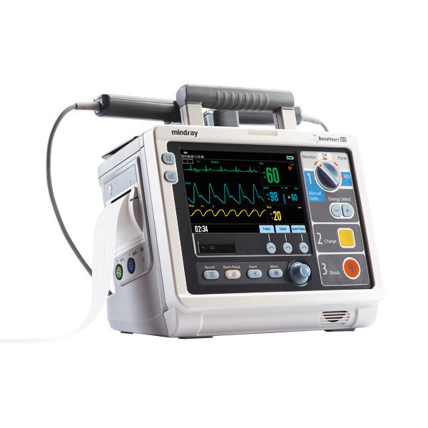 semi automatic external defibrillator with ecg and spo2 monitor rh medicalexpo com Mindray Anesthesia Mindray CO2 Monitor