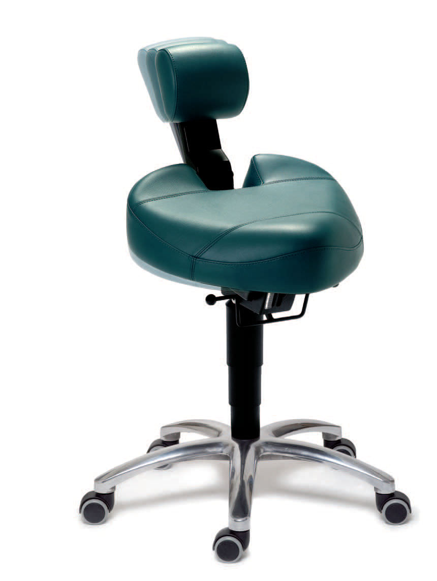 Doctoru0027s Office Stool / Height Adjustable / With Backrest / T Seat    Dynamic®