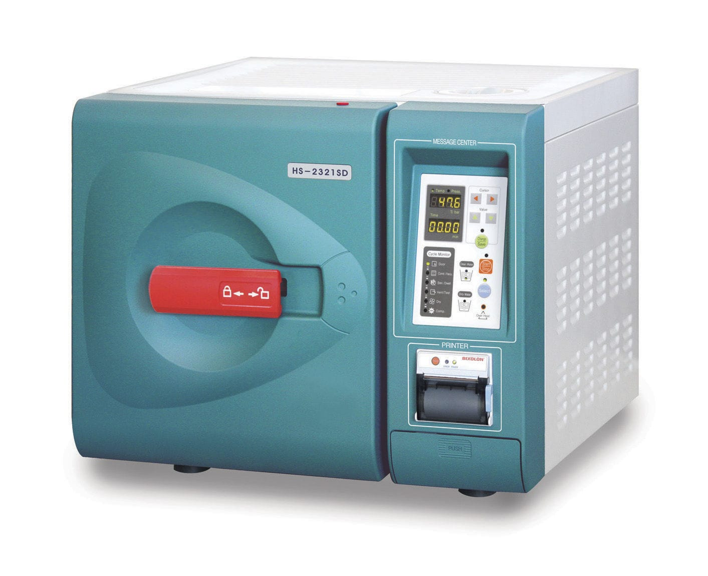 Medical autoclave / bench-top / with steam generator ...