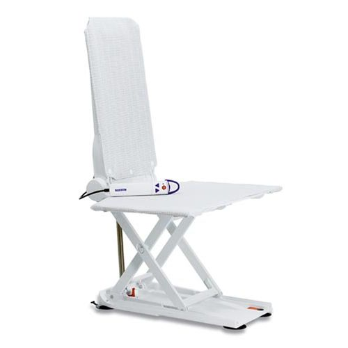 Bath seat / with high backrest / electric / height-adjustable ...