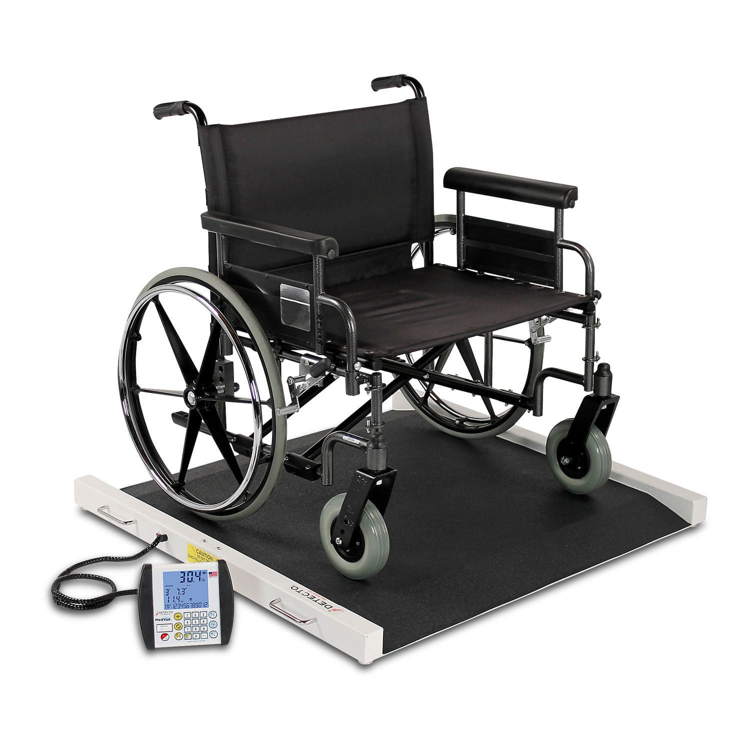 Electronic platform scales for wheelchairs bariatric with