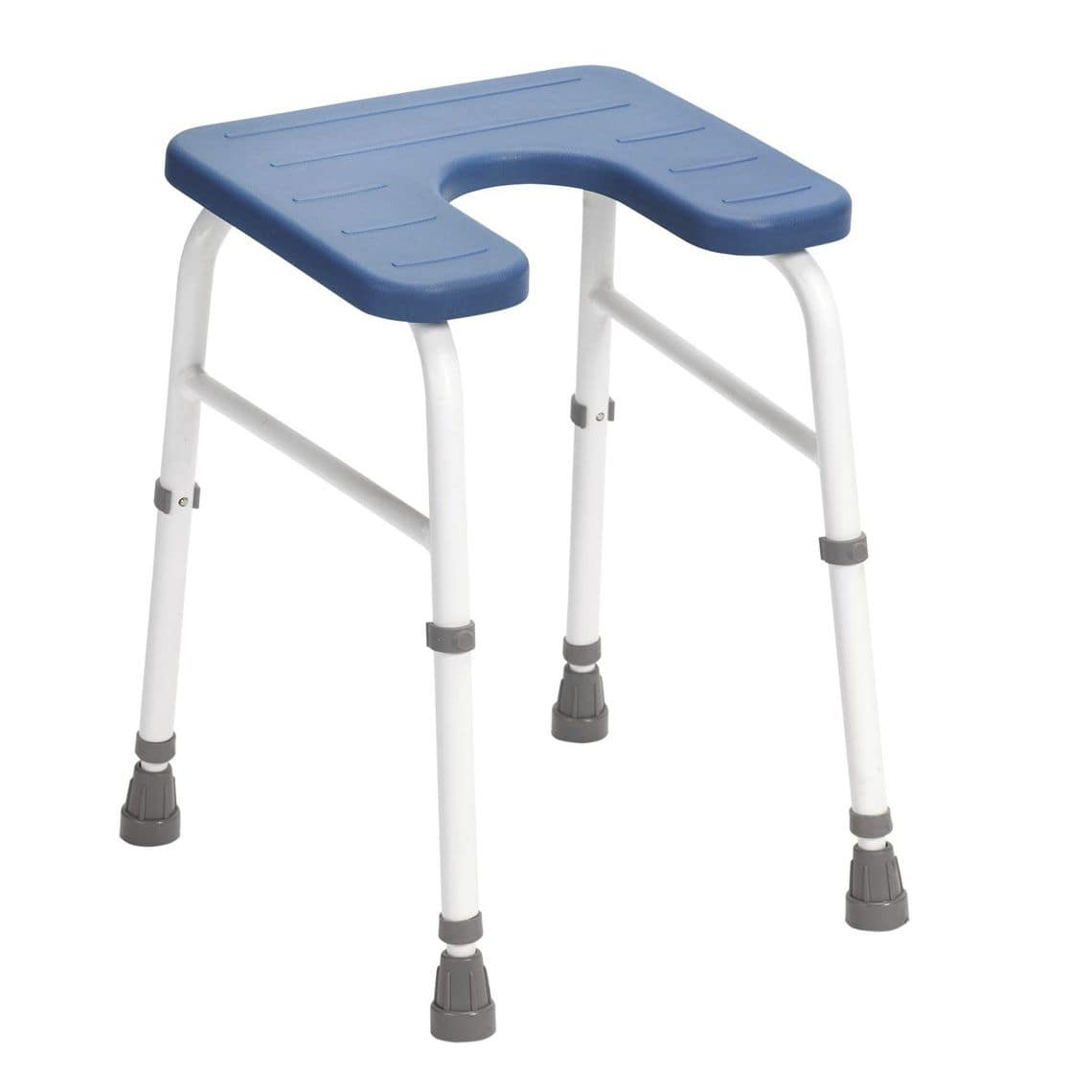 Shower stool / with cutout seat / height-adjustable - Cowley - Drive ...