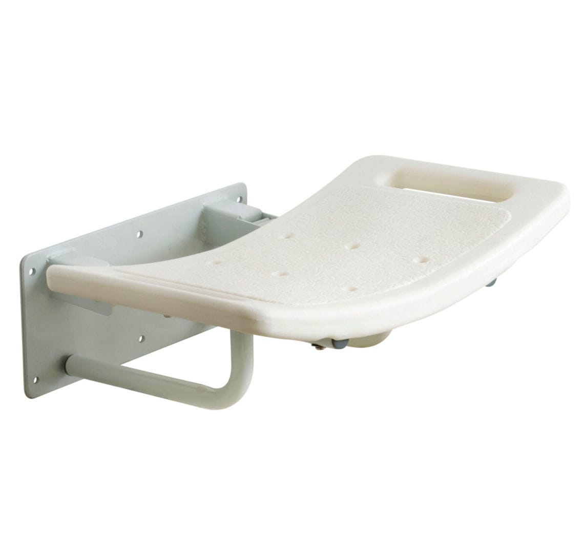 Shower seat / fold-down / wall-mounted - SWALL001, SWALL002 - Drive ...