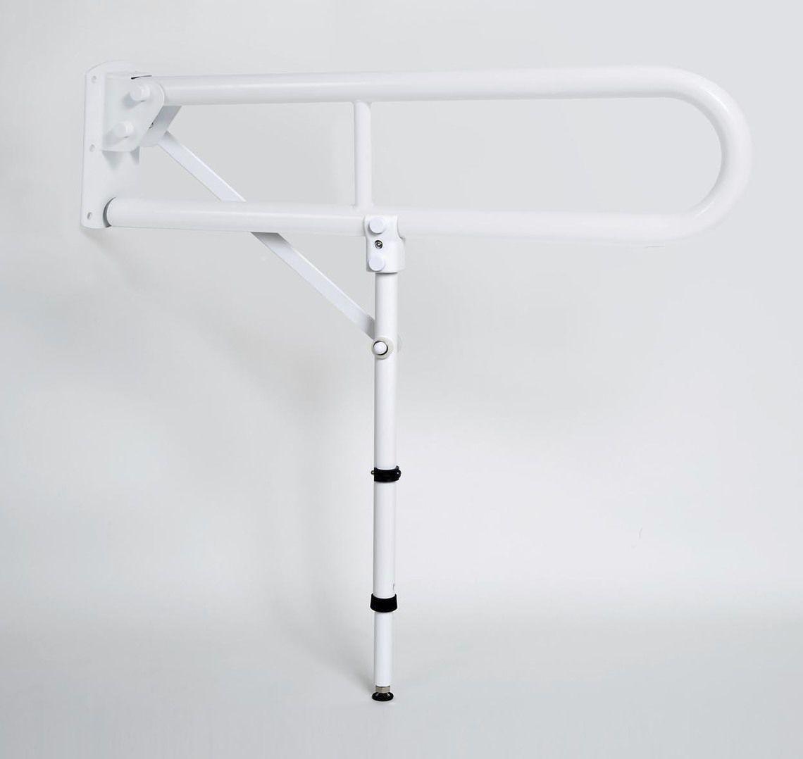 Toilet grab bar / wall-mounted / folding - GRH001, GRH002 - Drive ...