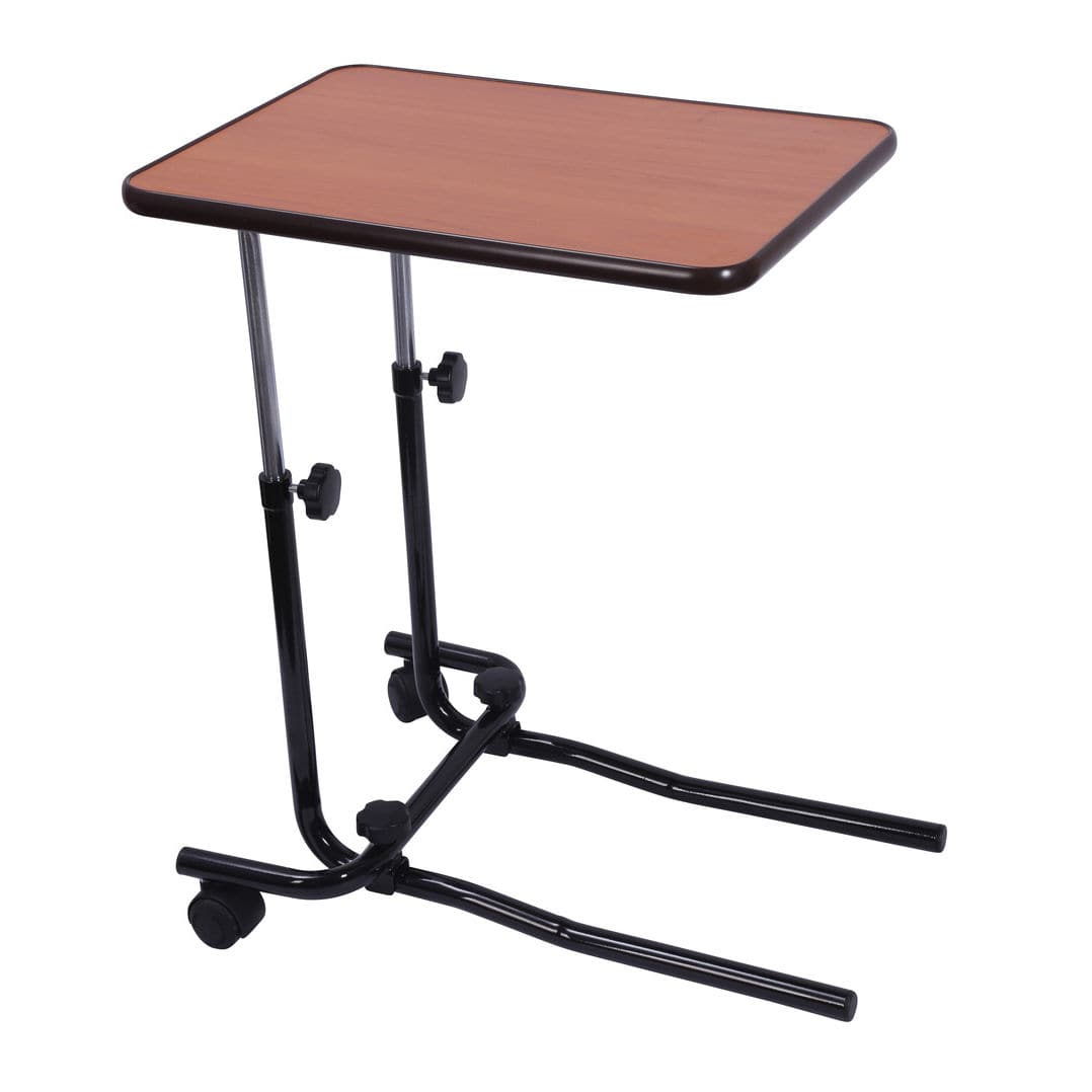 overbed table on casters 701