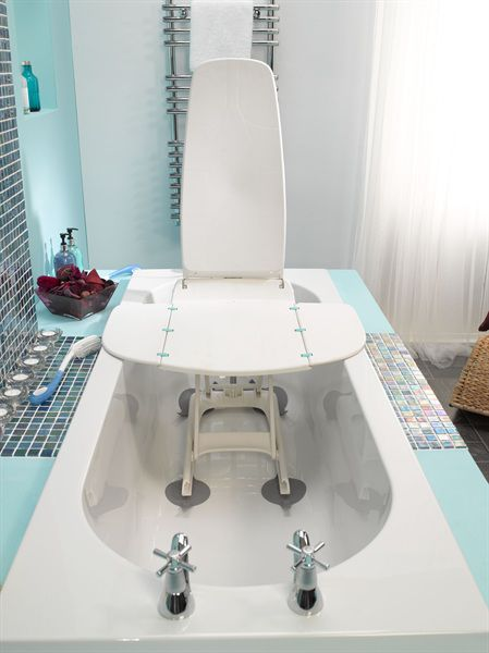 Bath seat / with suction cup - Aquila - Drive Medical Europe - Videos