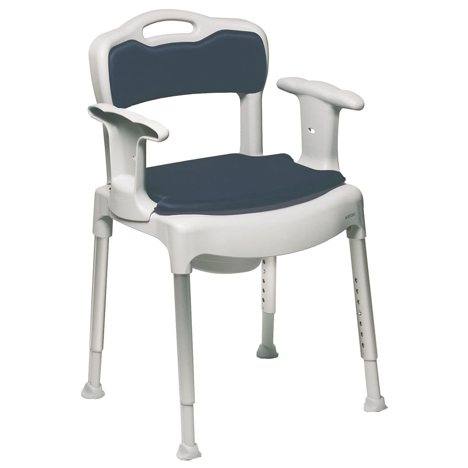 Height adjustable mode chair max 130 kg