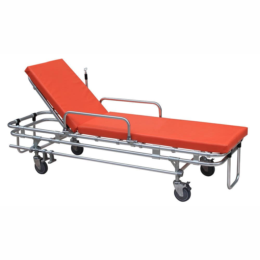 Transport stretcher trolley / emergency / manual / with
