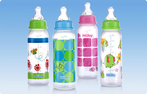 Polypropylene Baby Bottle Without Bisphenol A Decorated NonDrip Awesome Decorated Baby Bottles