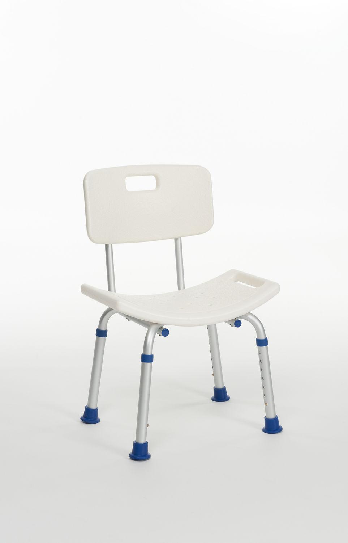Shower chair / height-adjustable - Lilly - VERMEIREN