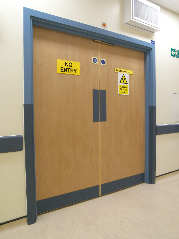 Hospital door / laboratory / swing / double & Hospital door / laboratory / swing / double - envirotect pezcame.com