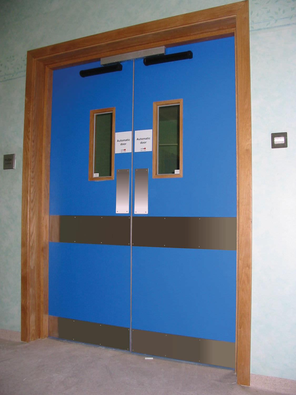 Double Swing Doors Hospital Door Laboratory Swing Double Envirotect