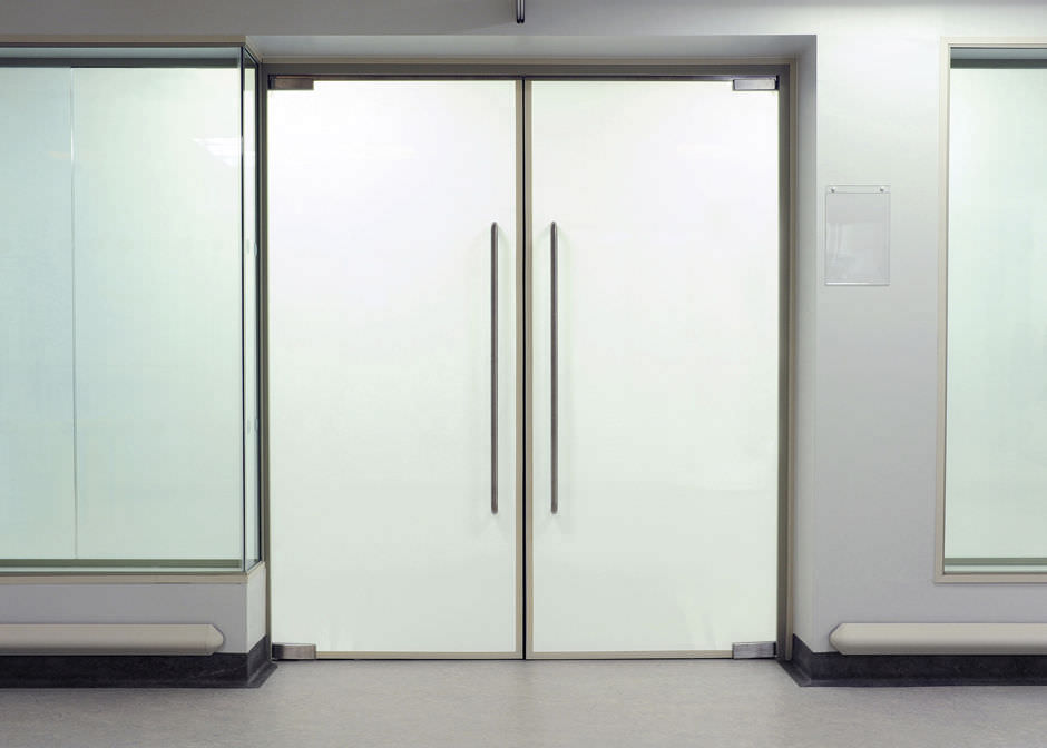 Hospital door laboratory swing glass black out smartglass hospital door laboratory swing glass planetlyrics Images