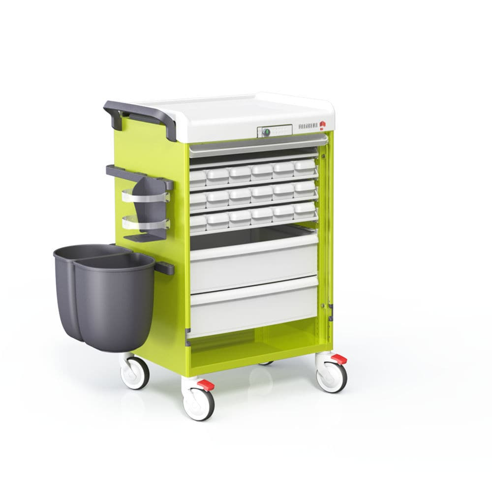 Storage Trolley / Medicine Distribution / Medication / With Drawer    Logistu0027Alli