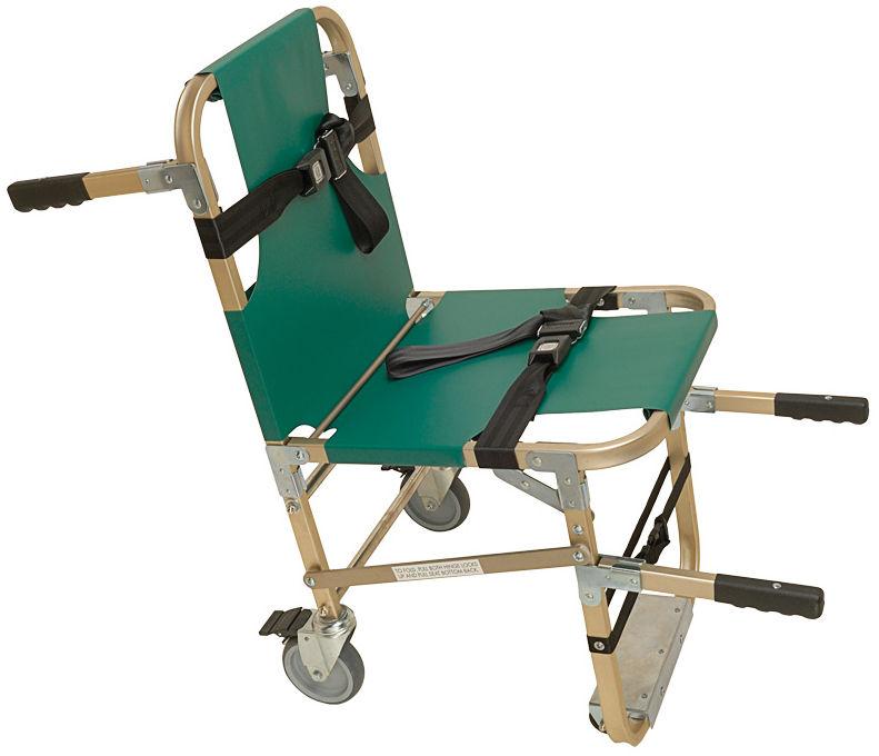 Folding patient transfer chair - JSA-800-W - Junkin Safety Appliance ...