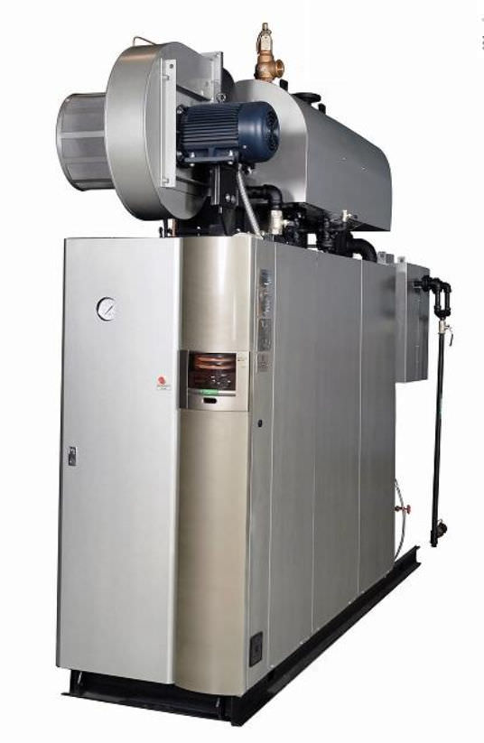 Steam boiler / gas-fired - LX(L)-100 SG - Miura Boiler