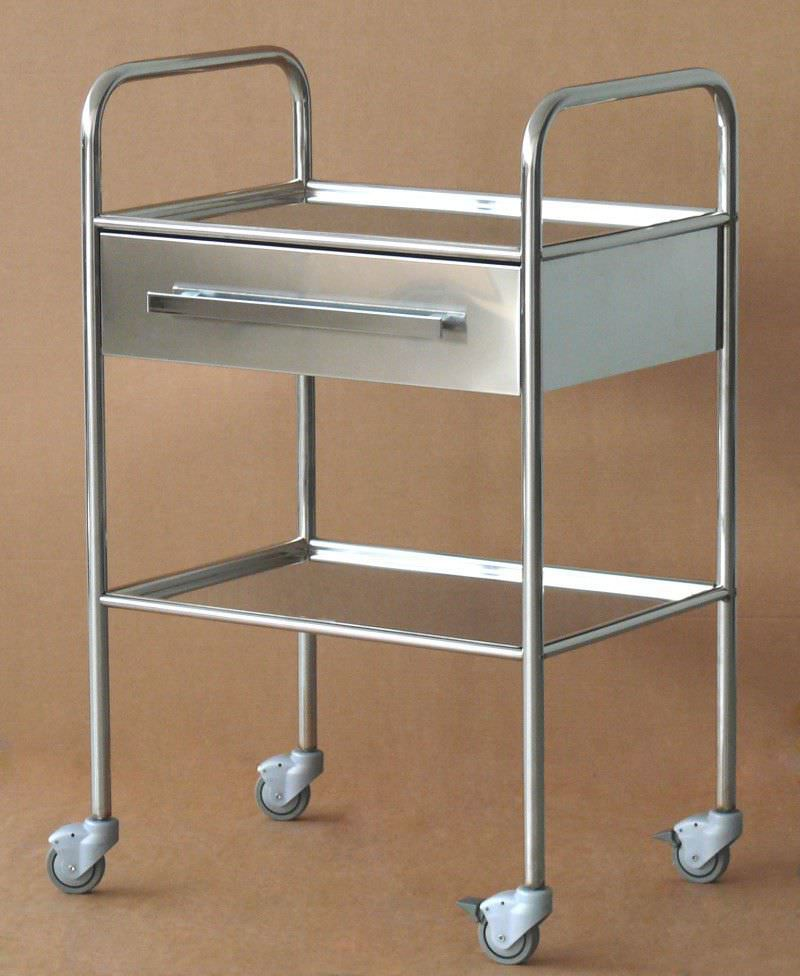 Good 2 Shelf Instrument Table / On Casters