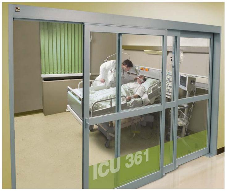 Intensive care door / laboratory / sliding / roll-up - Profiler® & Intensive care door / laboratory / sliding / roll-up - Profiler ... pezcame.com